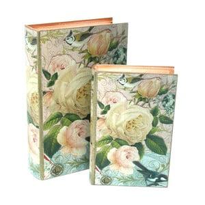 Set 2 úložných boxov Rose Bolzonella