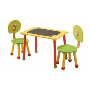 Detský stolík s 2 stoličkami Roba Kids Včelka Maja
