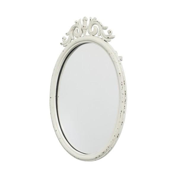 Biele zrkadlo Nordal Baroque