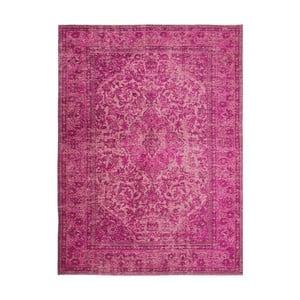 Ružový ručne tkaný koberec Flair Rugs Palais, 200 × 290 cm