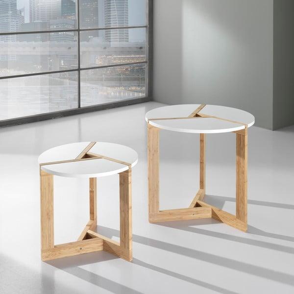 Sada 2 kávových stolíkov Varm