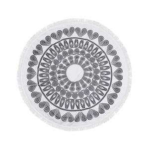 Farebná plážová osuška zo 100% bavlny Nutmeg,⌀150 cm