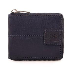 Kožená peňaženka Lois Navy, 10,5x8,5 cm
