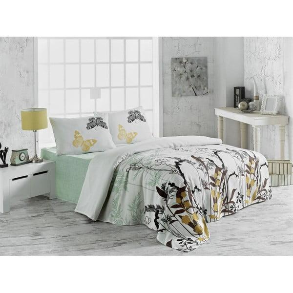 Ľahká prikrývka cez posteľ Double Pique 207, 200x235cm