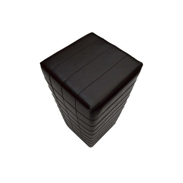 Koženkový puf Power 06, 100 cm