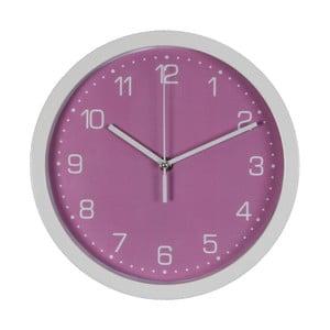 Fialové nástenné hodiny Just 4 Kids Arabic Dial, ⌀ 26,5 cm