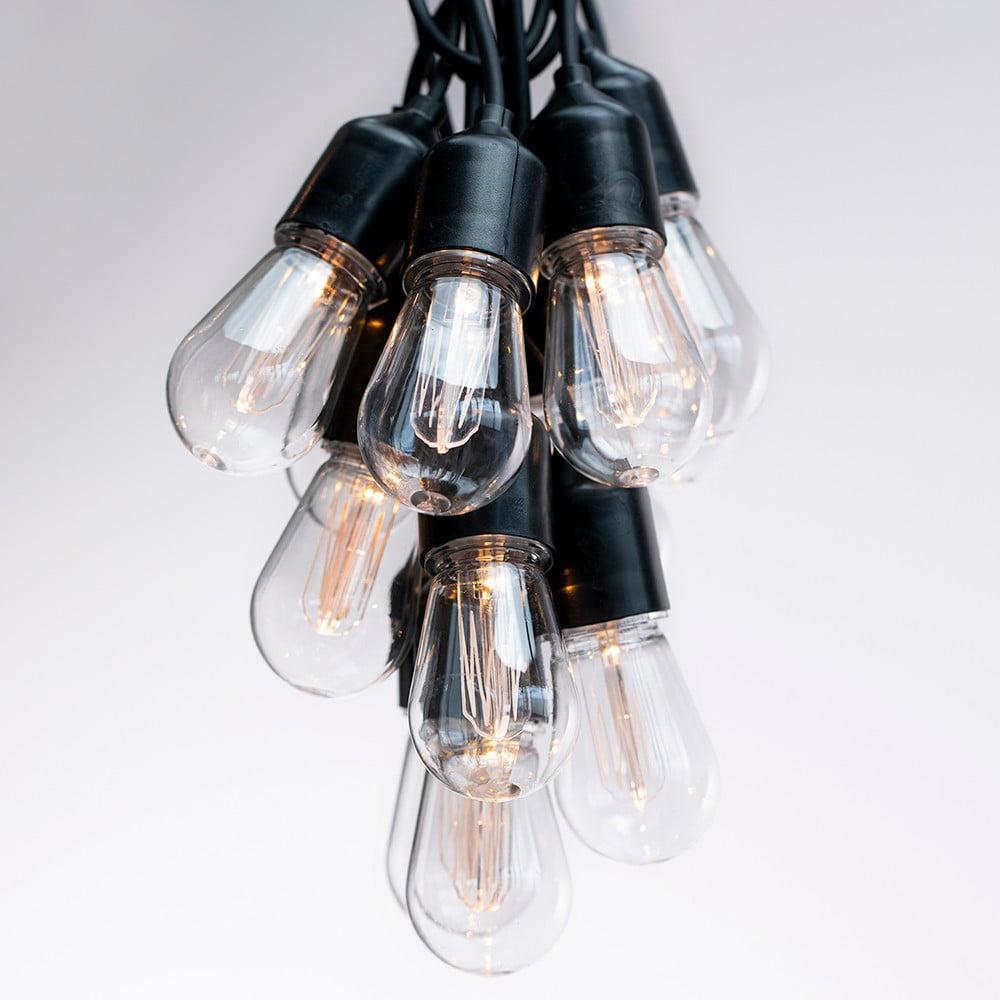 Predĺženie LED svetelnej reťaze DecoKing Bulb, 10 svetielok, dĺžka 3 m