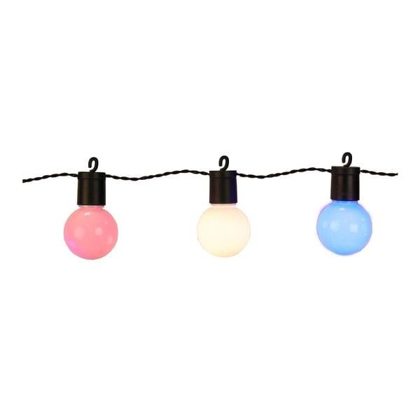 Svetelná LED reťaz vhodná do exteriéru Best Season Hooky, 20 svetielok