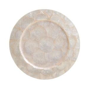 Servírovací tanier z mušlí InArt Capiz, ⌀ 33 cm
