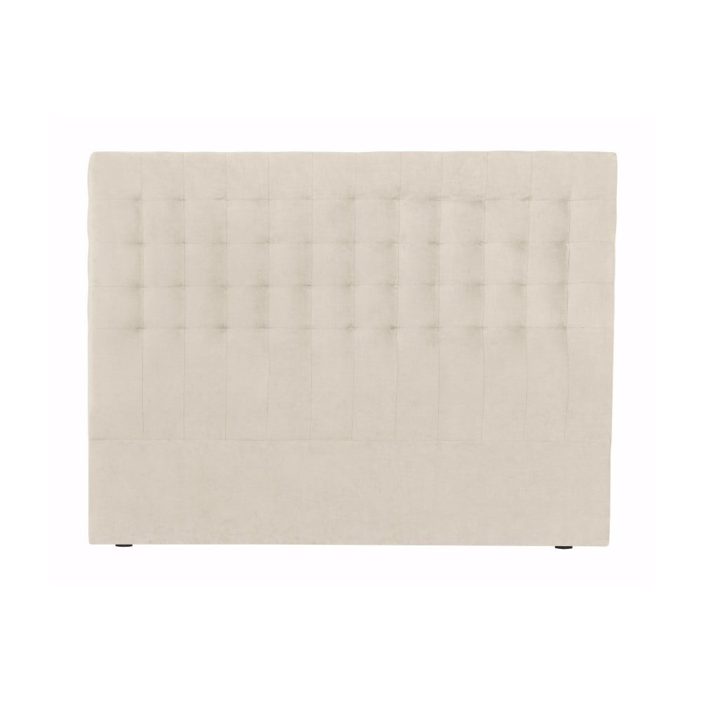 Krémové čelo postele Windsor & Co Sofas Nova, 200 × 120 cm