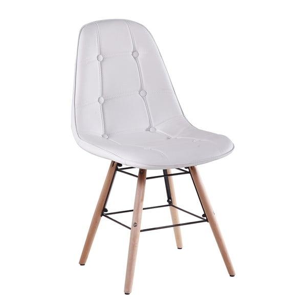 Jedálenská stolička Patty, biela
