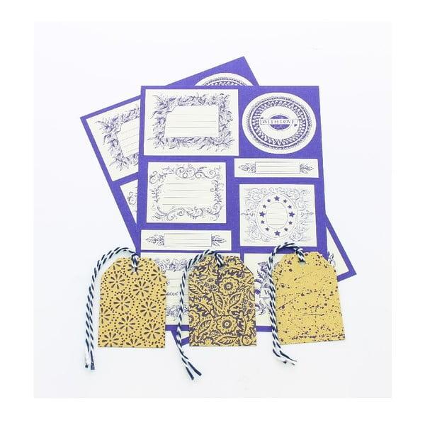 Sada darčekových štítkov a kartičiek Blueprint Collections Emma Bridgewater