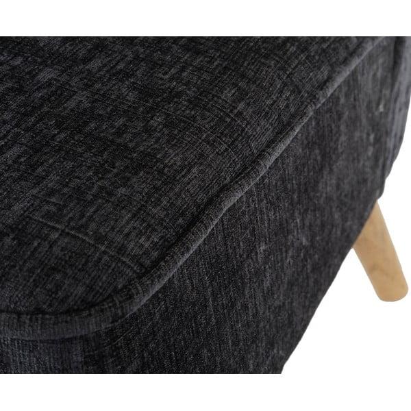 Kreslo Vaasa Grey, sivý textilný poťah