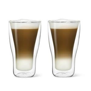 Sada 2 dvojstenných pohárov Bredemeijer Latte Machiato