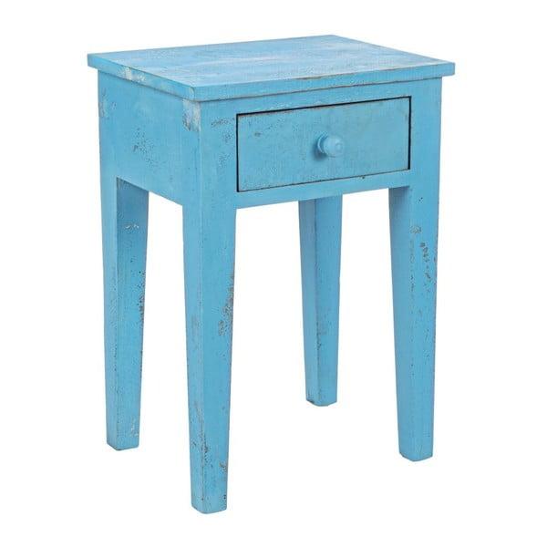 Nočný stolík Lampada Blue, 40x30x57  cm