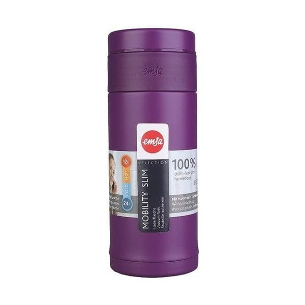 Termo fľaša Mobilitiy Slim Purple, 420 ml