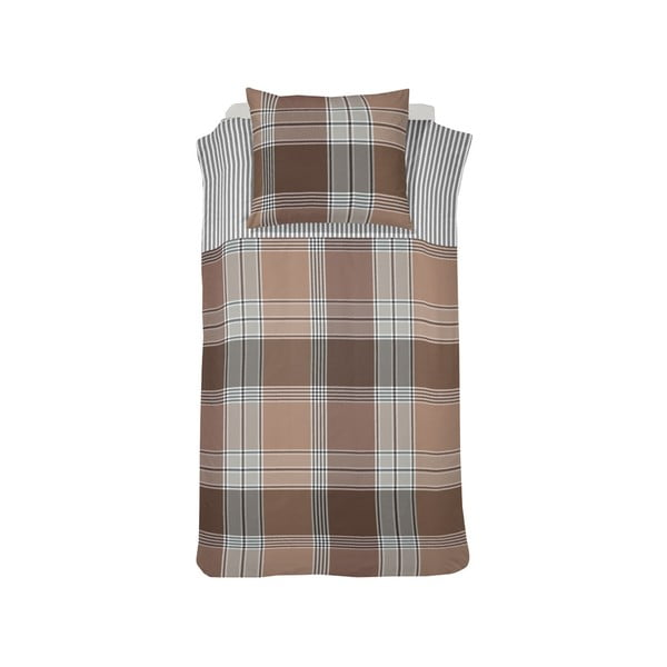Obliečky Derby Brown, 140x200 cm