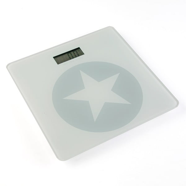 Osobná váha Grey & White Star