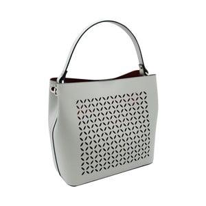 Sivá kabelka z pravej kože Andrea Cardone Albertina