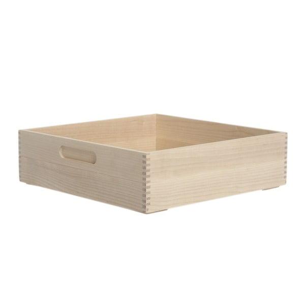 Box na pečivo Iris Hantverk Birch, výška8,4 cm