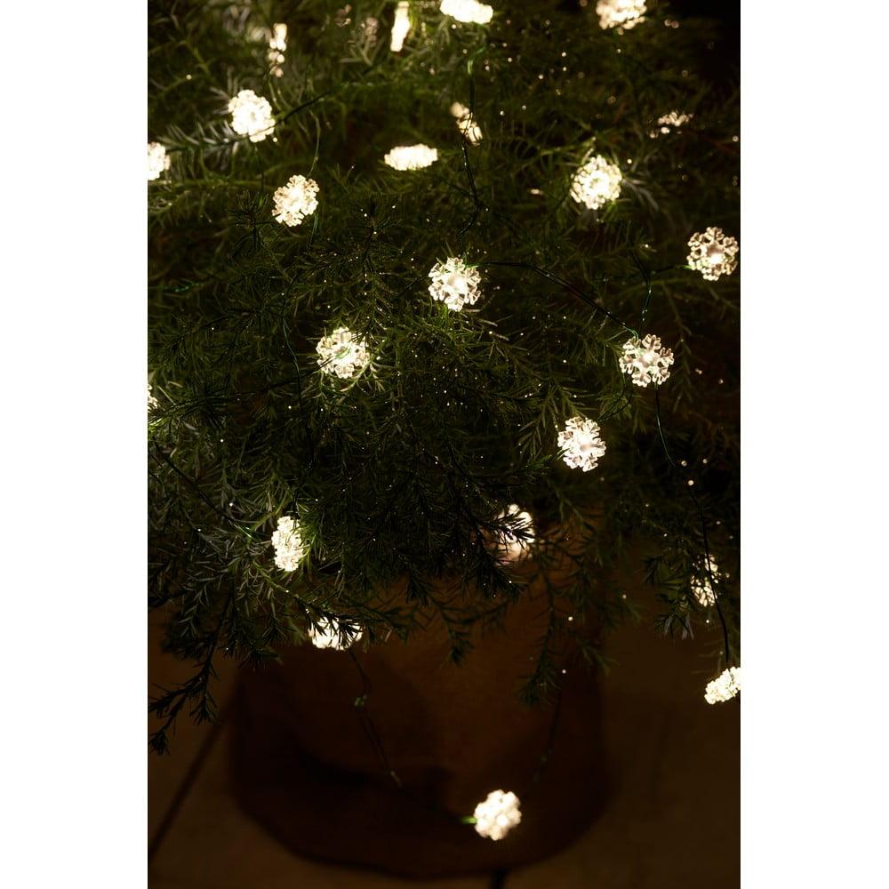 Svetelná LED reťaz Sirius Nynne Green, dĺžka 390 cm