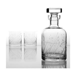 Ateliér Žampach, whisky set Len so šiestimi odlievkami