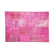 Vlnený koberec Allmode Pink, 180x120 cm