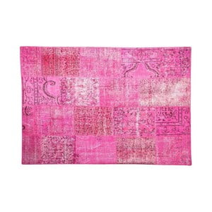 Vlnený koberec Allmode Pink, 150x80 cm