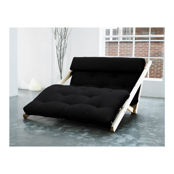 Leňoška Karup Figo, Raw/Black, 120 cm