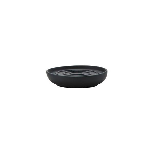 Čierna miska na mydlo Zone Nova