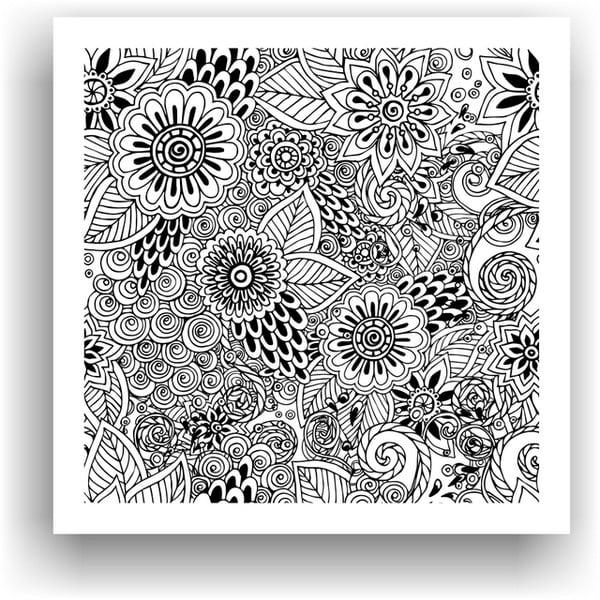 Obraz na vymaľovanie Color It no. 65, 50x50 cm
