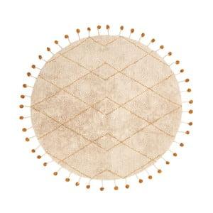 Bavlnený koberec s žltými detailmi Nattiot Tanvi