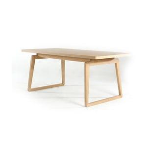 Jedálenský stôl z dubového dreva Ellenberger design Private Space Eiche, 90x90cm