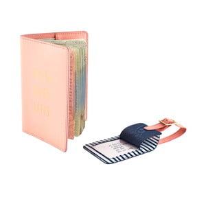 Cestovná peňaženka s visačkou na kufor Busy B Travel