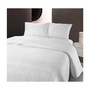 Biele obliečky z mikroperkálu Zensation Dallas, 200 x 200 cm