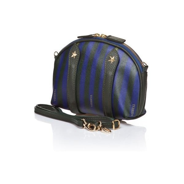 Kabelka Duff Mini Blue/Dark Green