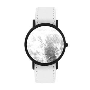 Unisex hodinky s bielym remienkom South Lane Stockholm Avant Diffuse Invert