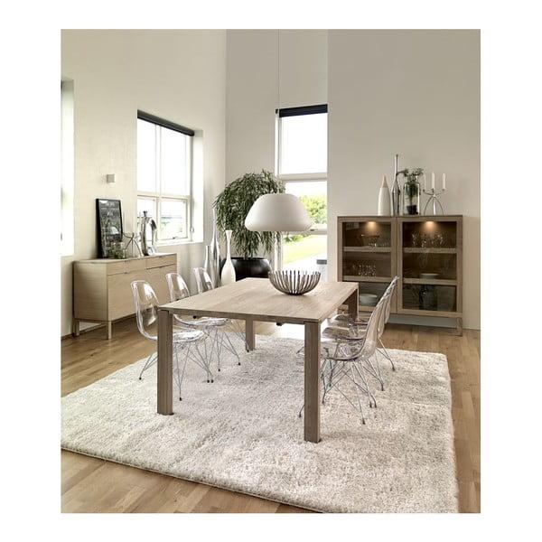 Transparentná jedálenská stolička Canett Crystal