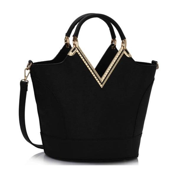 Kabelka L&S Vanity Black