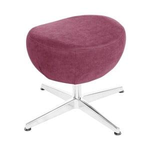 Fuksiovoružová otočná stolička/podnožka My Pop Design Vostell