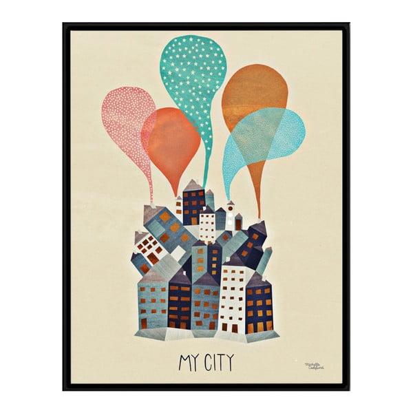 Plagát Michelle Carlslund My City, 50x70cm