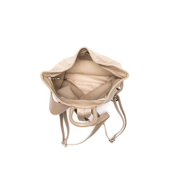 Kožený batoh Anna Luchini 1083 Fango