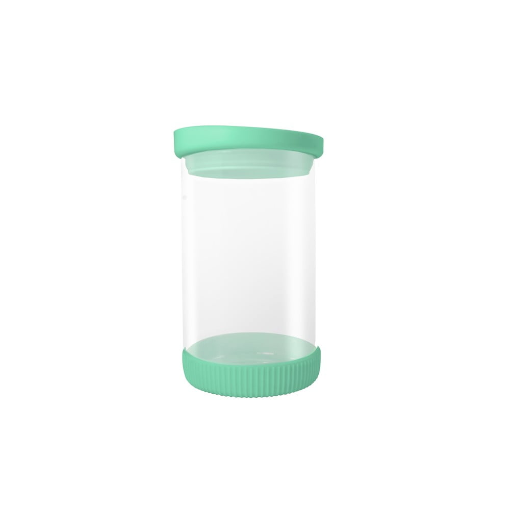 Sklenená dóza so zeleným vrchnákom JOCCA Container, 810 ml