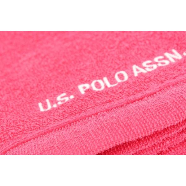 Sada 2 uterákov US Polo Assn. Wash Fuchsia, 30 x 50 cm