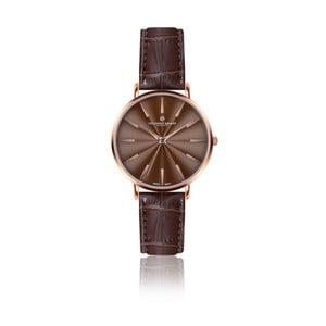 Dámske hodinky s hnedým remienkom z pravej kože Frederic Graff Rose Monte