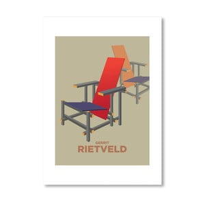 Autorský plagát Rietveld