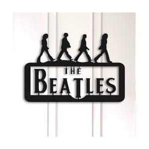 Kovová nástenná dekorácia The Beatles