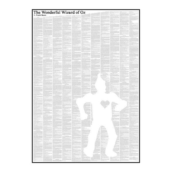 Knižný plagát Čarodejník zo zeme Oz/Tin Man, 50x70 cm