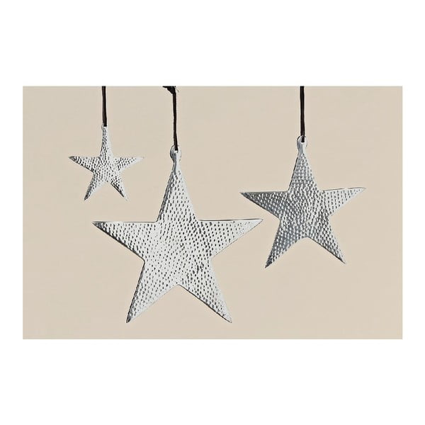 Závesná dekorácia Star, 3 ks