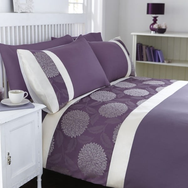 Obliečky Mei Purple, 230x220 cm